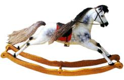 Plans for tiny carved rocking horse